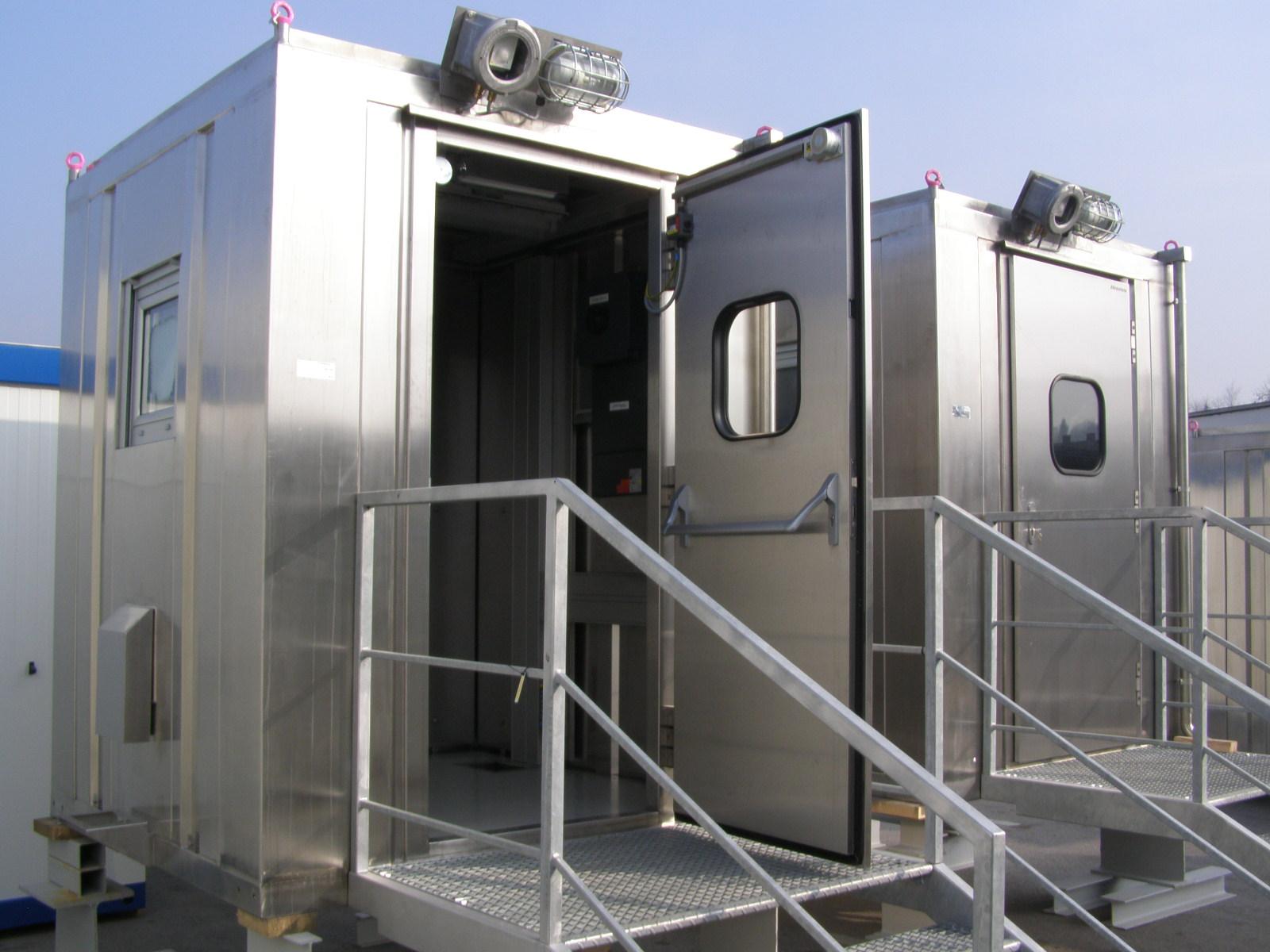 Edelstahl Container
